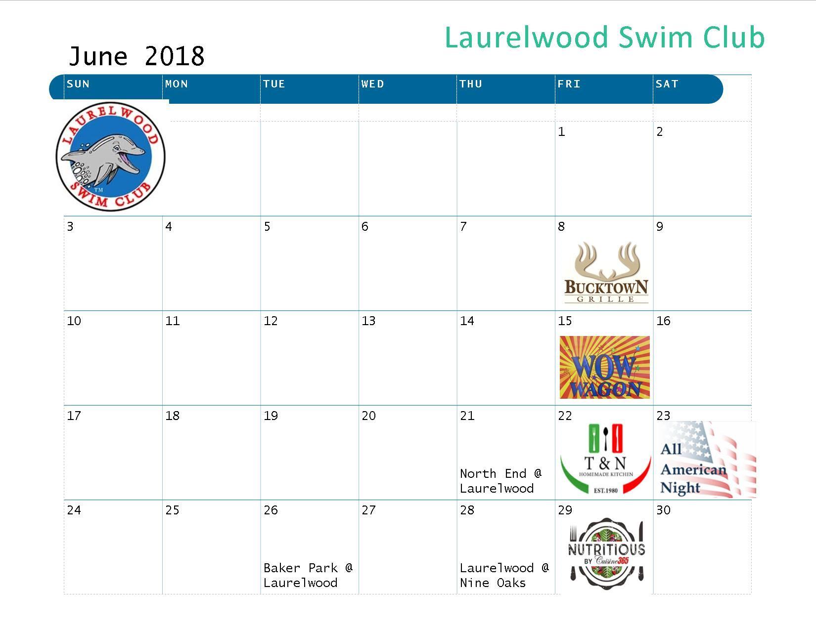 Laurelwood swimclub events for Laurelwood